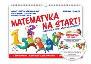 Matematyka na start! Kalendarz + CD-Kornacka Agnieszka