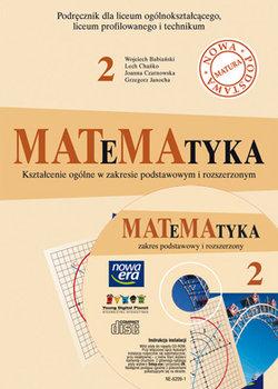 Matematyka. Podręcznik dla klasy 2 liceum ogólnokształcącego, profilowanego i technikum + CD-Babiński Wojciech, Chańko Lech, Czarnowska Joanna