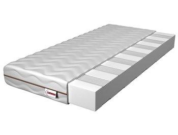 Materac piankowy, 7-strefowy, dwustronny COMMON Preto, 90x200x14 cm-COMMON