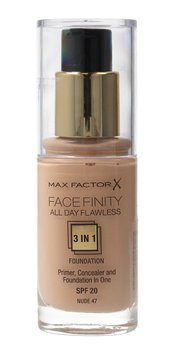 Max Factor, Facefinity All Day Flawless 3w1, podkład 47 Nude, 30 ml-Max Factor