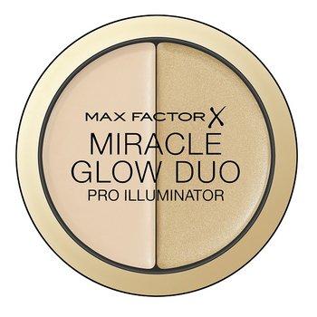 Max Factor, Miracle Glow Duo, rozświetlający korektor do twarzy 10 Light, 11 g-Max Factor