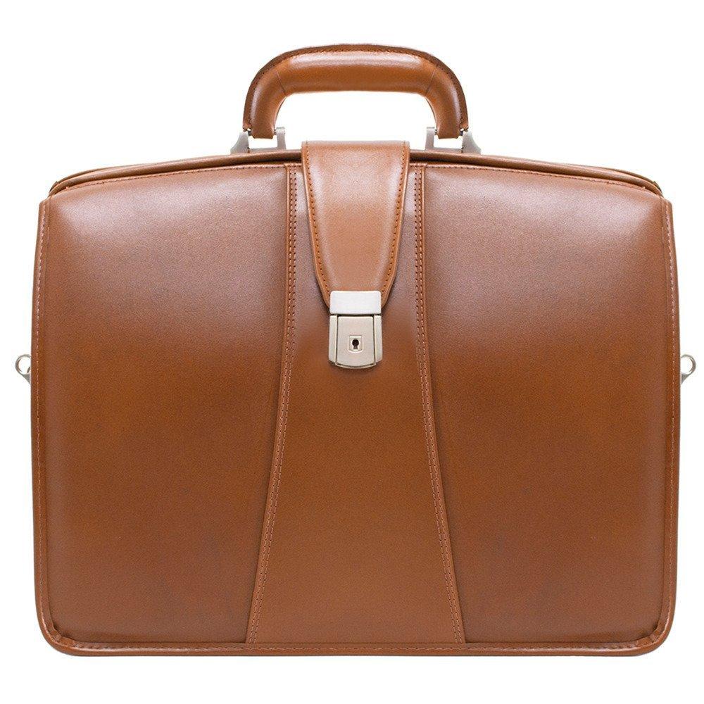 McKlein, Teczka na laptop Harrison, brązowa, 43x20x38 cm