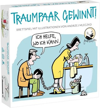 MDR Dystrybucja, gra planszowa Traumpaar Gewinnt, wersja niemiecka-MDR Dystrybucja