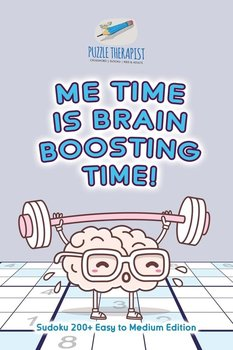 Me Time is Brain Boosting Time! | Sudoku 200+ Easy to Medium Edition-Puzzle Therapist