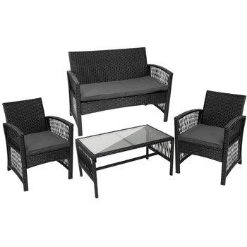 Meble Ogrodowe Technorattan Rattanowe Sofa Stolik 11962-Iso Trade