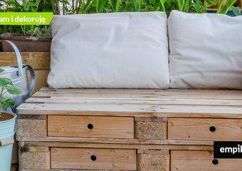 Meble ogrodowe z palet – propozycje gotowych zestawów mebli z palet do ogrodu
