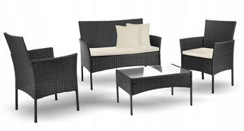 Meble ogrodowe zestaw kawowy stół, sofa 2Xfotele-Eurohit