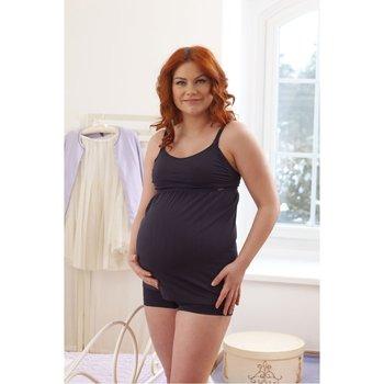 Medela, Koszulka dla kobiet w ciąży i karmiących piersią, rozmiar S, czarna-Medela