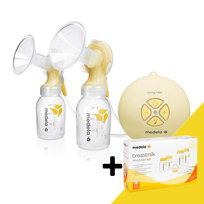 Medela, Laktator elektroniczny podwójny Swing Maxi + gratis Breastfeeding Starter Kit