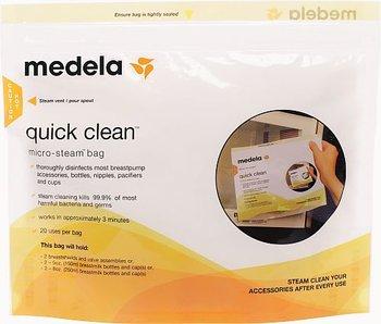 Medela, Torebki do dezynfekcji w mikrofalówce, 5 szt,-Medela