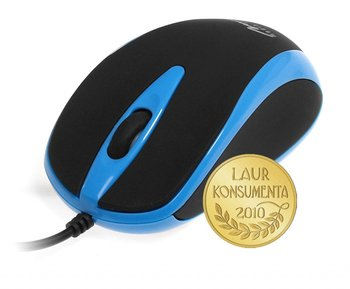 Media-Tech Mysz optyczna 800dpi czarno-niebieska MT1091B-Media-Tech