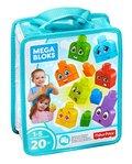 Mega Bloks, klocki Buduj i ucz się: Emocje, FLT38-Fisher Price
