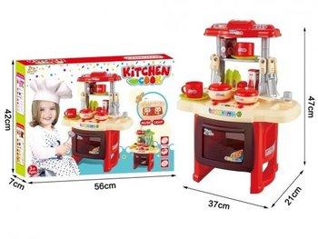Mega Creative, kuchnia interaktywna z akcesoriami, 406091-Mega Creative