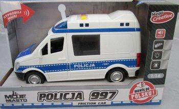 Mega Creative, Moje miasto, auto Policja-Mega Creative