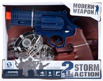 Mega Creative, zestaw Policyjny pistolet-Mega Creative