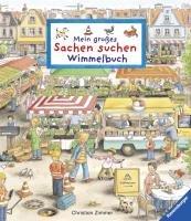 Mein großes Sachen suchen. Wimmelbuch-Gernhauser Susanne