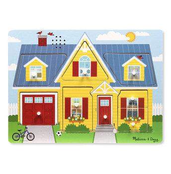 Melissa & Doug, puzzle dźwiękowe Dookoła domu-Melissa & Doug