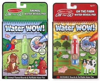 Melissa & Doug, zestaw 2 kolorowanek wodnych Zwierzaki Domowe-Melissa & Doug