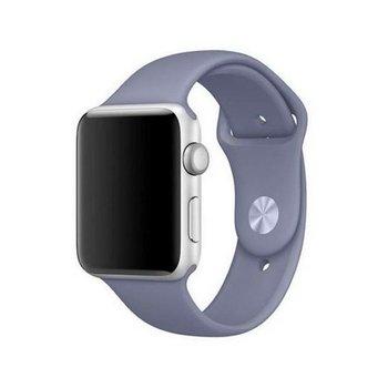 Mercury pasek Silicon Apple Watch 44mm lawendowy/lavender-Mercury