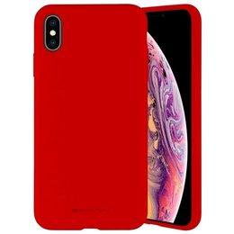 """Mercury Silicone iPhone 13 6,1"""" czerwony/red"""