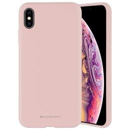 """Mercury Silicone iPhone 13 6,1"""" różowo-piaskowy/pink sand"""