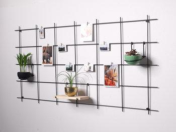 Metalowy organizer ścienny MEMOBOARD / Skandi Design Studio-Skandi Design Studio