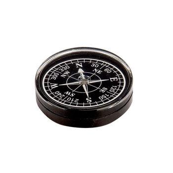 Meteor, Kompas okrągły, czarny, 50 mm -Meteor