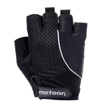 Meteor, Rękawiczki rowerowe, GEL GXQ 160, czarny, rozmiar S-Meteor
