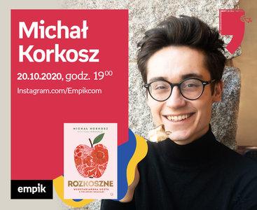 Michał Korkosz – Przedpremiera | Wirtualne Targi Książki