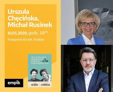 Michał Rusinek, prof. Urszula Chęcińska | Księgarnia Empik
