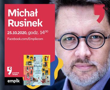 Michał Rusinek – Spotkanie | Wirtualne Targi Książki. Przecinek i Kropka