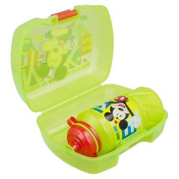 Mickey Mouse - Zestaw Śniadaniówka / Lunchbox + bidon 420 ml-Forcetop