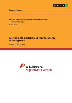 Microbal Degradation of Tauropine. An investigation-Langer Manuel