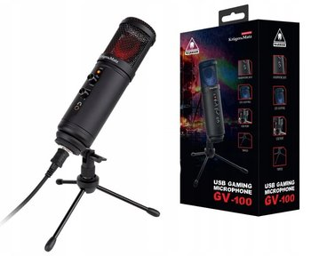 Mikrofon gamingowy KrugerMatz GV-100 dla Youtubera-Kruger&Matz