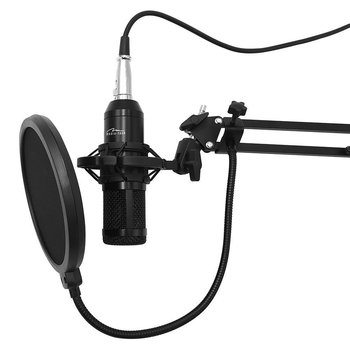 Mikrofon MEDIA-TECH MT396, Stream, Studio, czarny-Media tech