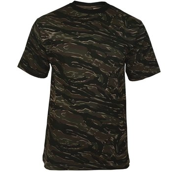 Mil-Tec Koszulka T-shirt Tiger Stripe - Tiger Stripe - XL - Mil-Tec