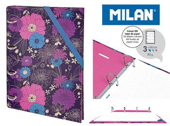 Milan, segregator, format A4, In Bloom