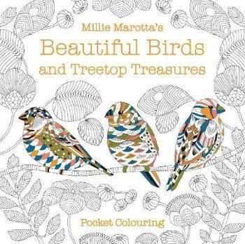 Millie Marotta's Beautiful Birds and Treetop Treasures Pocket Colouring-Marotta Millie