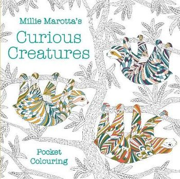 Millie Marotta's Curious Creatures Pocket Colouring-Marotta Millie