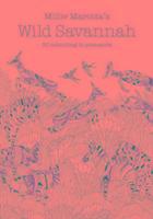 Millie Marotta's Wild Savannah Postcard Book-Marotta Millie