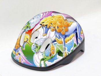 Milly Mally, Unicorn, kask rowerowy-Milly Mally
