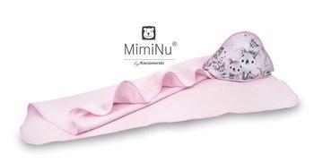 MimiNu by Kieczmerski, Koala, Okrycie kąpielowe, Różowy, 100x100 cm-MimiNu by Kieczmerski