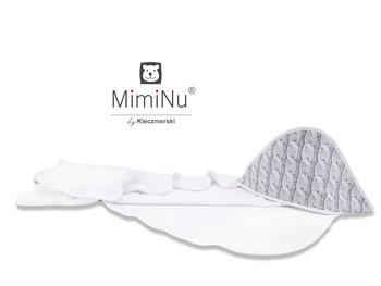 MimiNu by Kieczmerski, Okrycie kąpielowe, Termofrotte/Bawełna, Sweterek duży, 100x100 cm-MimiNu by Kieczmerski