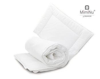 MimiNu by Kieczmerski, Pościel dziecięca i poduszka, biały, 100x135 cm-MimiNu by Kieczmerski