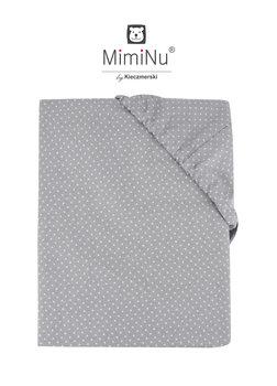 MimiNu by Kieczmerski, Prześcieradło, Miętowy, 60x120 cm-MimiNu by Kieczmerski