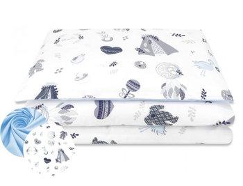 Miminu, Pościel niemowlęca, 2-elementowa, Baby Shower, Niebieski, 120x90 cm-MimiNu by Kieczmerski