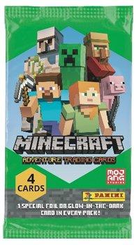 Minecraft Adventure Trading Cards Saszetki z Kartami