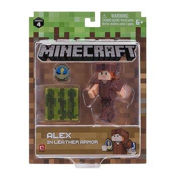 Minecraft, figurka Alex w skórzanej zbroi-Minecraft