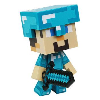 Minecraft, figurka Steve Diamentowa Zbroja-Minecraft