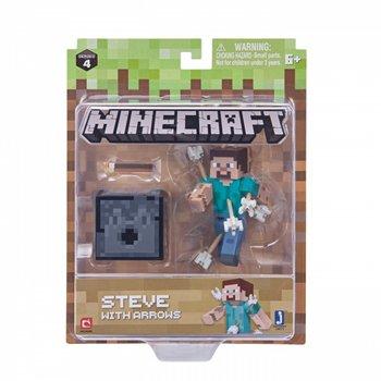 Minecraft, figurka Steve ze strzałami-Minecraft